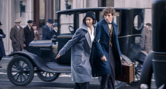 Newt Scamander is about to make the 20s roar.