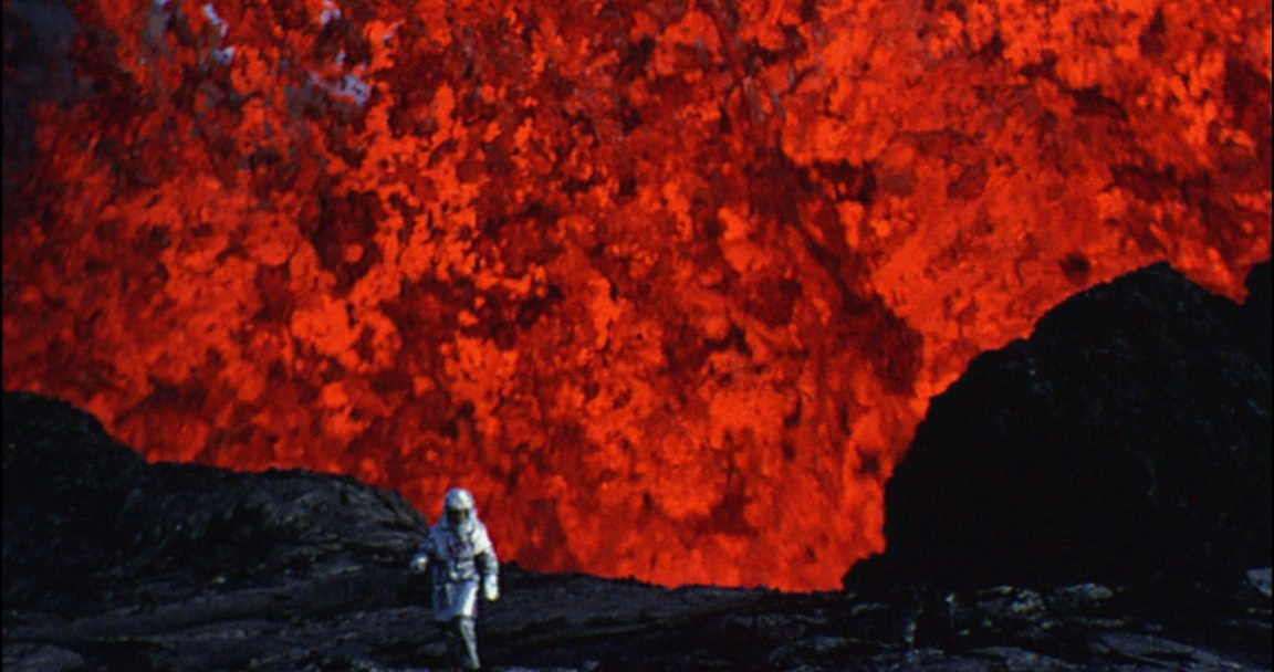 Volcanology is a hot job these days.