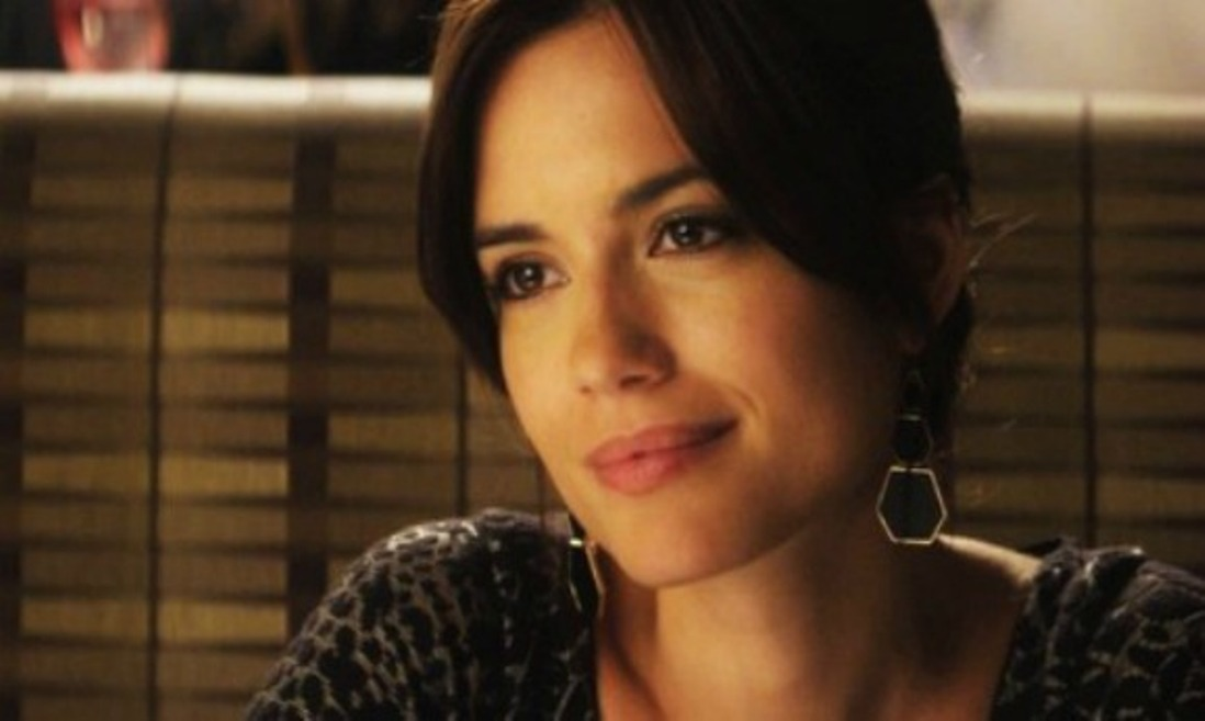 Torrey DeVitto lights up the screen.