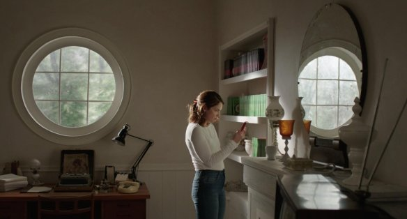 Ruth Wilson looks for clues.