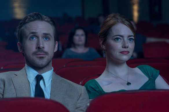 Not the expression Ryan Gosling and Emma Stone want you to have when watching THEIR movie.