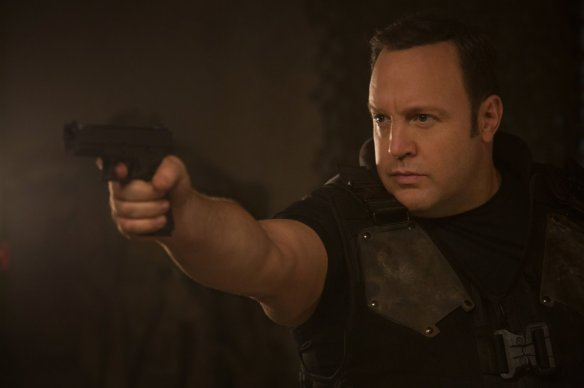 Kevin James, badass!