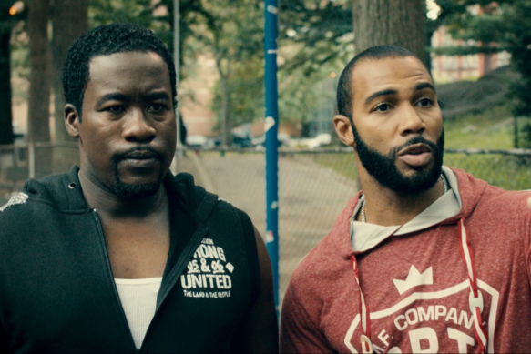 Just chillin' in Harlem.
