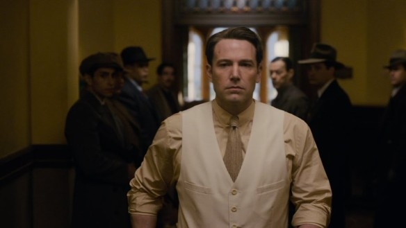 Ben  Affleck is all business.